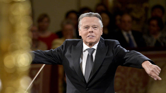 Mariss Jansons conducts the traditional New Year Concert with the Vienna Philharmonic Orchestra