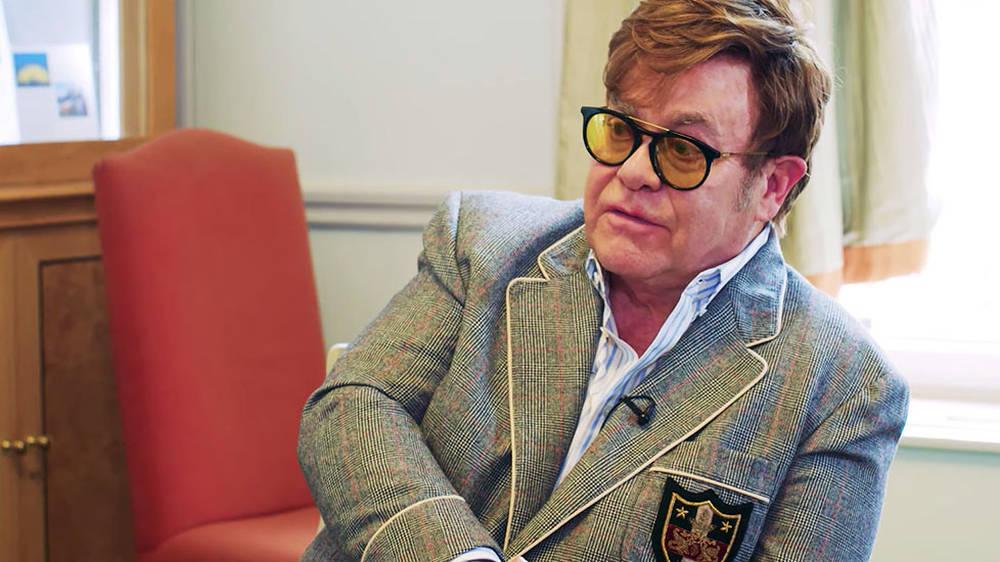 Elton John: 'It's tragic that music is being taken out of schools'