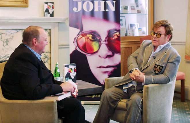 Sir Elton John speaks to Classic FM's Tim Lihoreau at the Royal Academy of Music