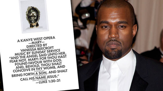 Kanye West announces another new opera – Mary.