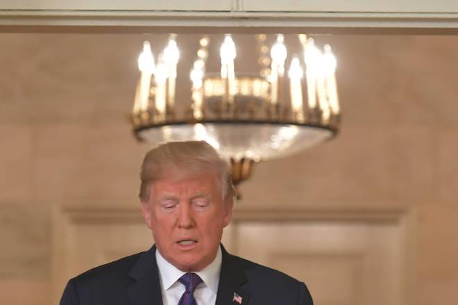 Donald Trump as an opera singer