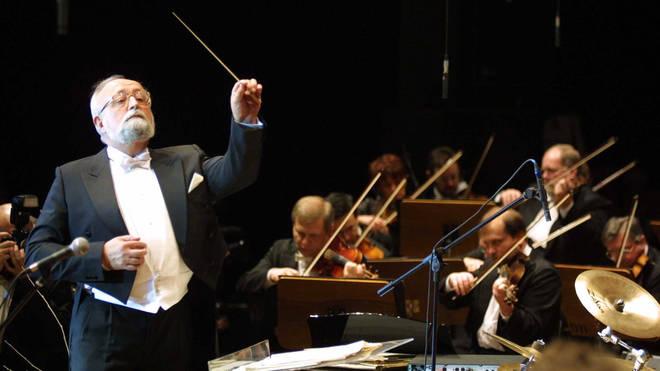 Penderecki, Krzysztof - Komponist, dirigiert im ICC in Berlin