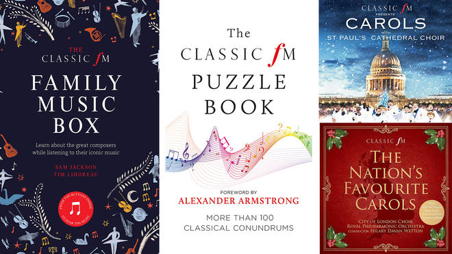 Classic FM Music books and CDs you can buy for the classical lovers in your life this Christmas
