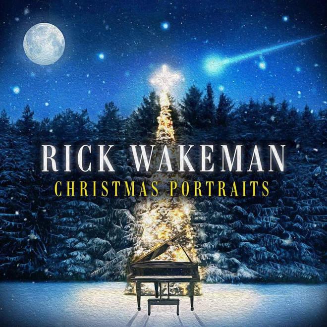 Rick Wakeman Christmas Portraits