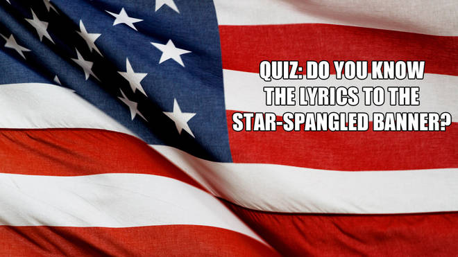 Do you know the lyrics to the US national anthem?