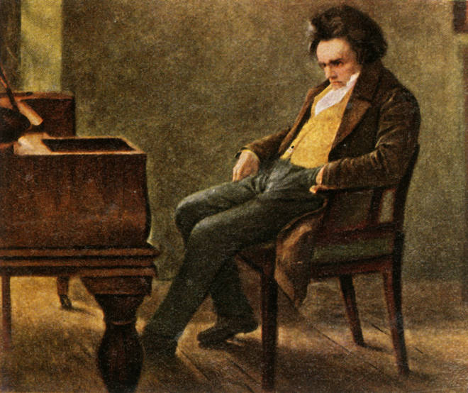 Beethoven died before completing his tenth symphony
