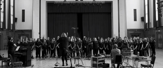The Waltham Forest Youth Choir join Tony Mortimer for re-recording of Christmas song 'Stay Another Day'