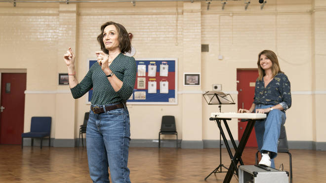 Kristin Scott Thomas and Sharon Horgan star in the film Military Wives
