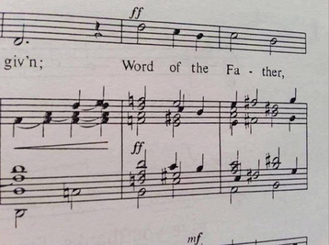 Word of the Father chord
