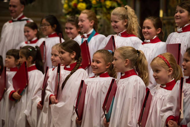 Gloucester Cathedral -  First female choristers at Evensong