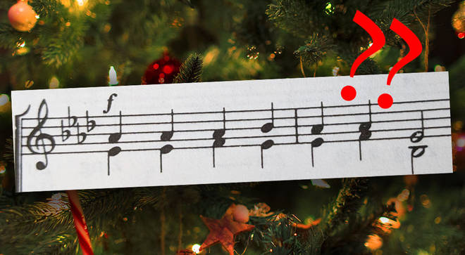 Can you identify the Christmas carol from the opening phrase?