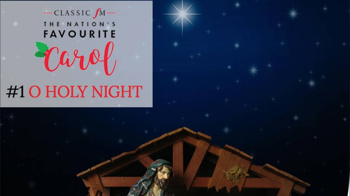 Angel From Holly's World o holy night' is officially the nation's favourite christmas