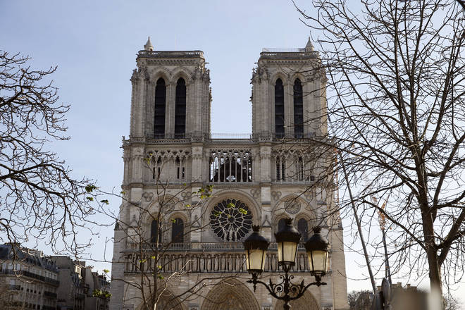 Renovation Of Notre Dame De Paris