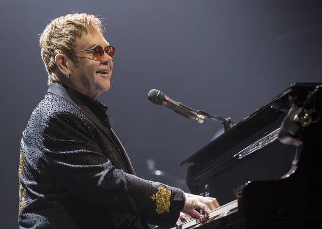 Sir Elton John awarded the Order of the Companions of Honour for his services to music and charity.