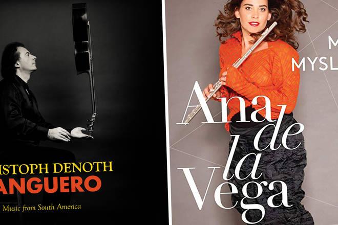 Ana de la Vega - Mozart & Myslivecek Flute Concertos, Christoph Denoth - Tanguero: Music from South America