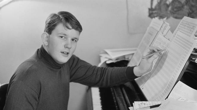 Oliver Knussen as a young boy
