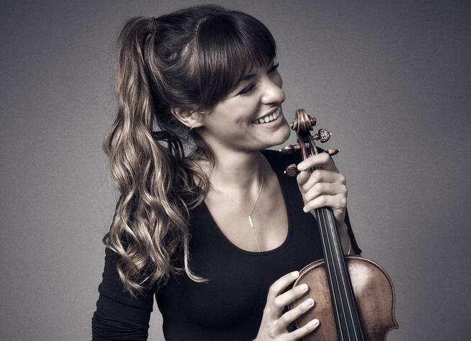 Violinist Nicola Benedetti has released her first recording with The Benedetti Foundation Orchestra