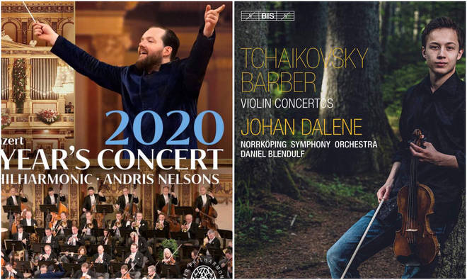 Classic FM Album of the Week & Drive Discovery: Vienna New Year's Concert 2020 and Tchaikovsky & Barber Violin Concertos