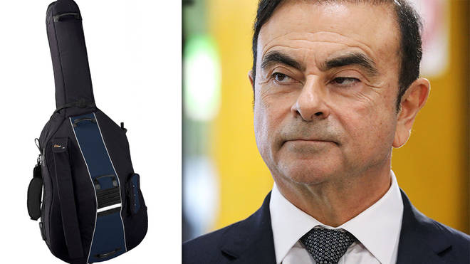 Carlos Ghosn accused of fleeing Japan in double bass case