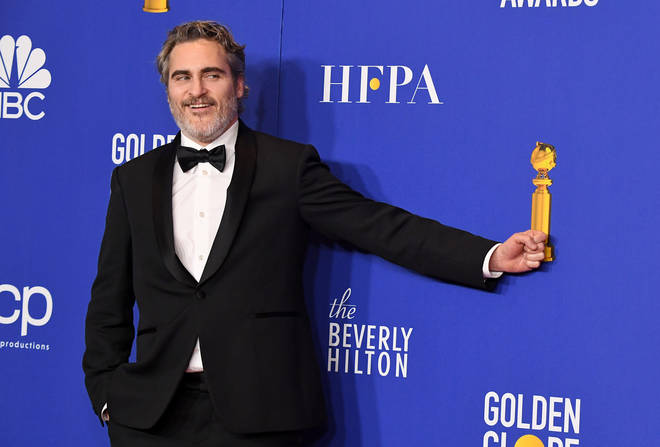 Joaquin Phoenix wins a Golden Globe for Best Actor