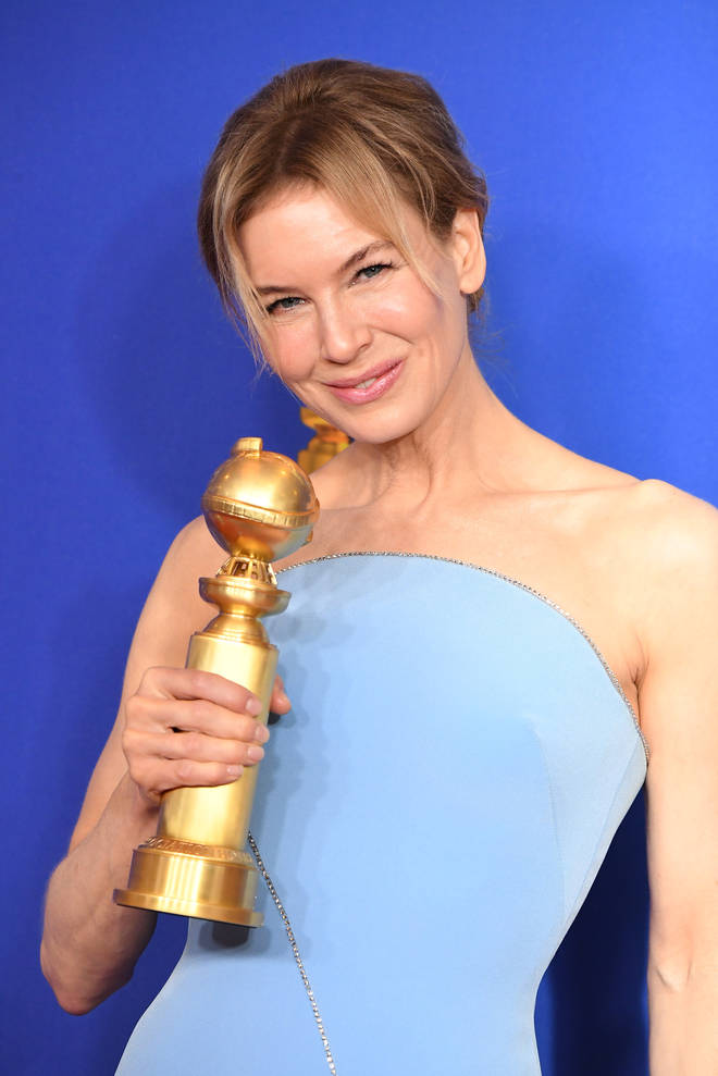 Renee Zellweger wins Best Actress at the Golden Globes 2020