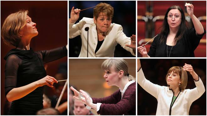 Mirga Gražinytė-Tyla, Marin Alsop, Simone Young, Susanna Mälkki and JoAnn Falletta