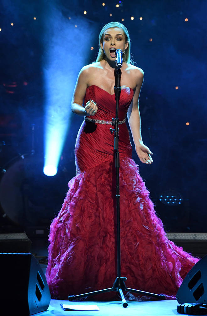 Katherine Jenkins performs during Magic of Christmas