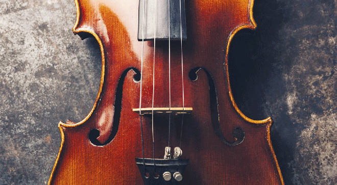 A century old violin was among the valuable instruments stolen
