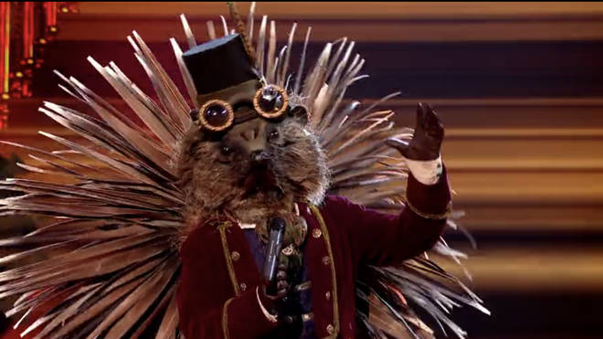 'Hedgehog' is a contestant on The Masked Singer