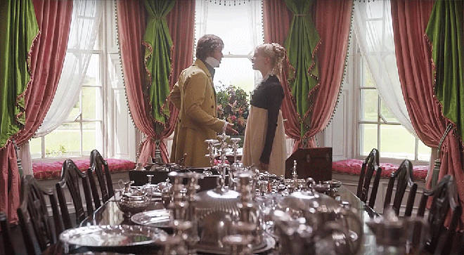 Emma Woodhouse and George Knightley