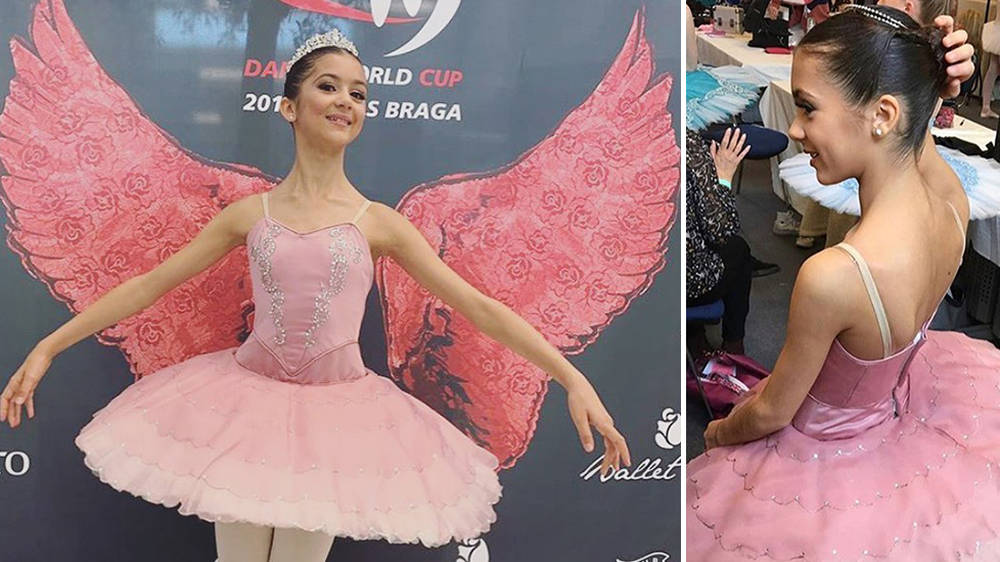 'Angel' ballerina, Valentina Sanna, dies aged 14 after contracting rare form of meningitis