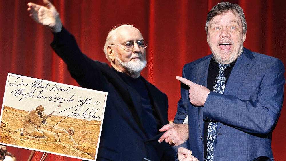 Mark Hamill reunited with missing Star Wars soundtrack signed by John Williams, 20 years later