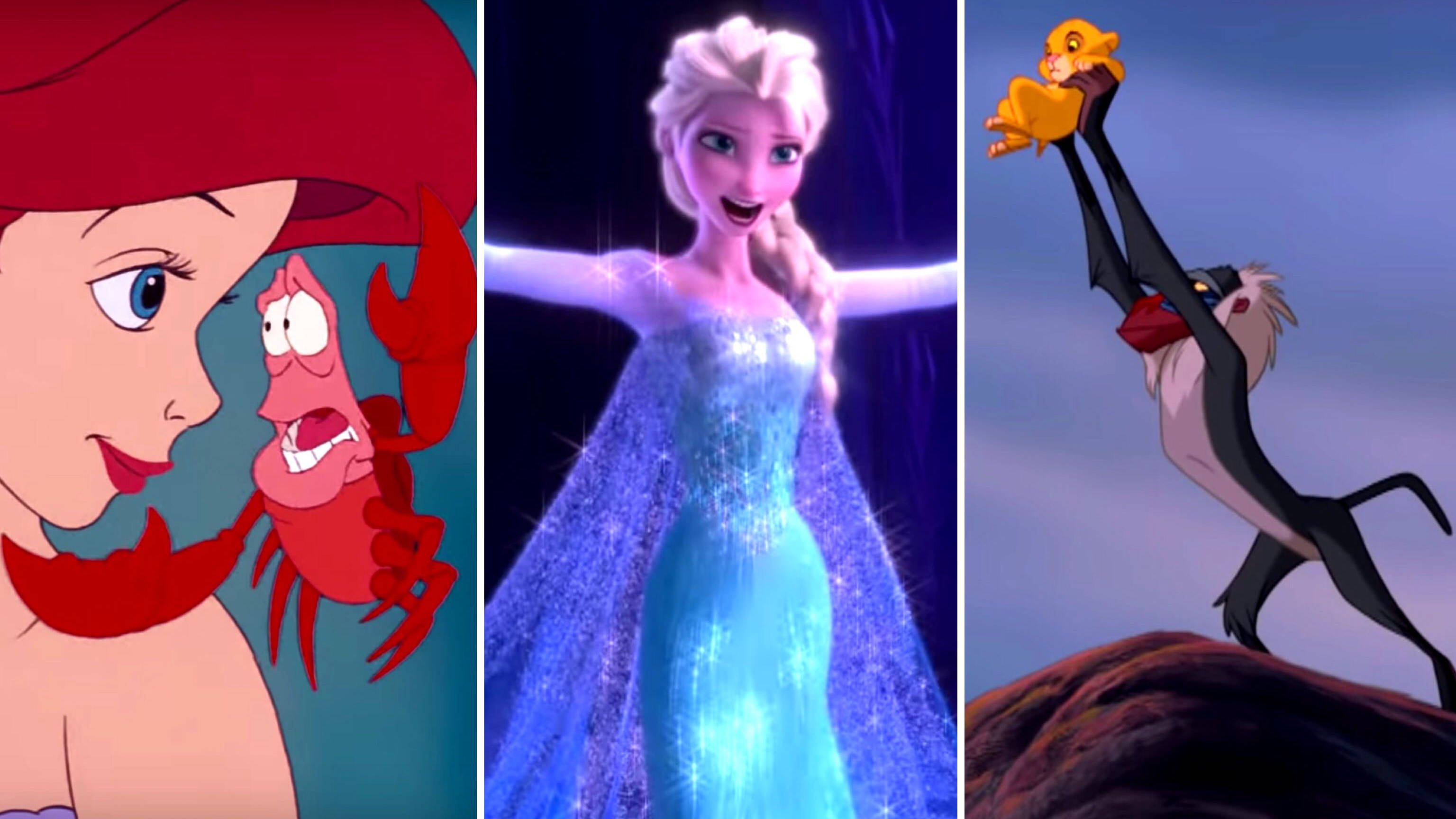 QUIZ: Can you name these iconic Disney songs from just one picture?