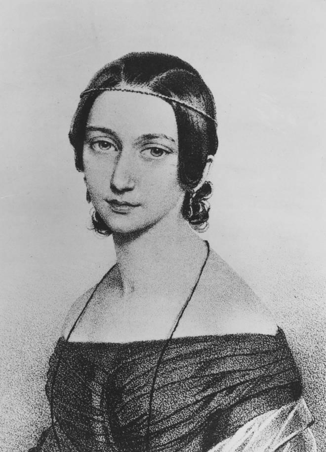 Clara Schumann (1840)