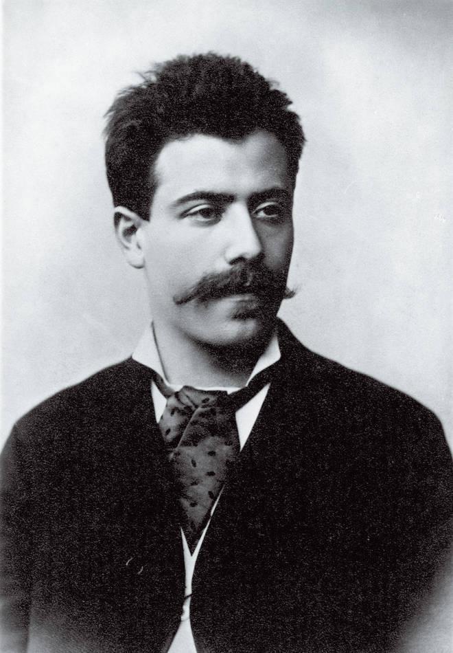Gustav Mahler (1884)