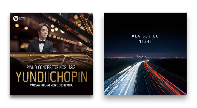 Night by Ola Gjeilo and Chopin: Piano Concertos Nos. 1 & 2 by Yundi