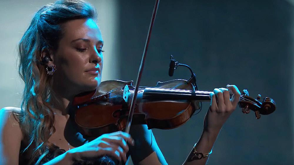 Watch violinist Nicola Benedetti's spectacular Grammys 2020 performance