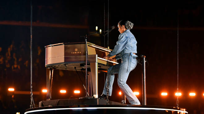 Alicia Keys played a Yamaha at the 2020 Grammys