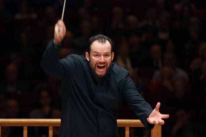 The Boston Symphony Orchestra is conducted by Latvian maestro Andris Nelsons