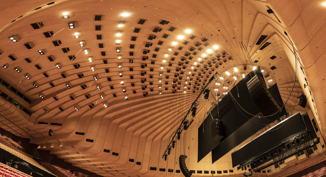 The striking Concert Hall will be renovated for the first time in 46 years