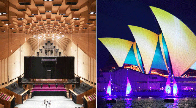 Sydney Opera House's concert hall ahead of historic renovations