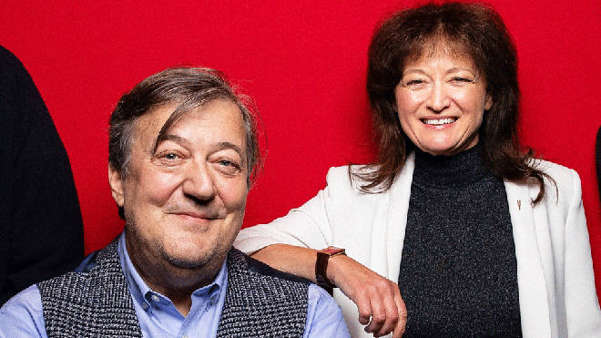 Stephen Fry and Debbie Wiseman OBE