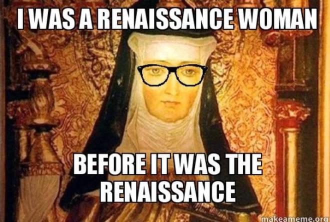 Hipster Hildegard