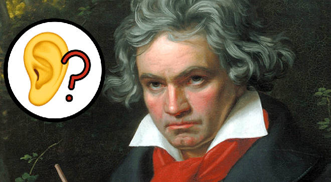 Beethoven may not have been completely deaf