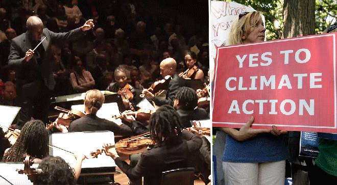 Chineke! and Christian Aid highlight climate change with new orchestral work