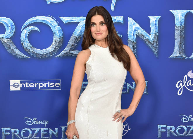 Idina Menzel who plays the lead role of Elsa in Disney's Frozen 2