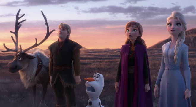 What are the lyrics to 'Into the Unknown'? And what happens in Frozen 2?