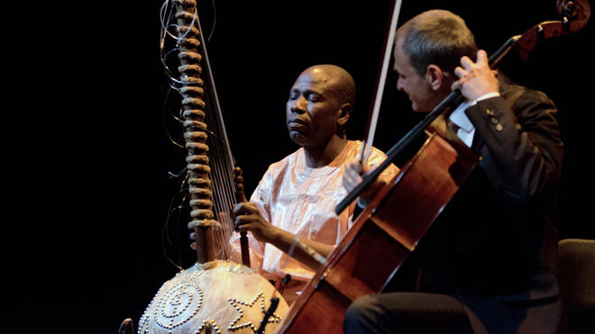 Ballaké Sissoko is a renowned kora player