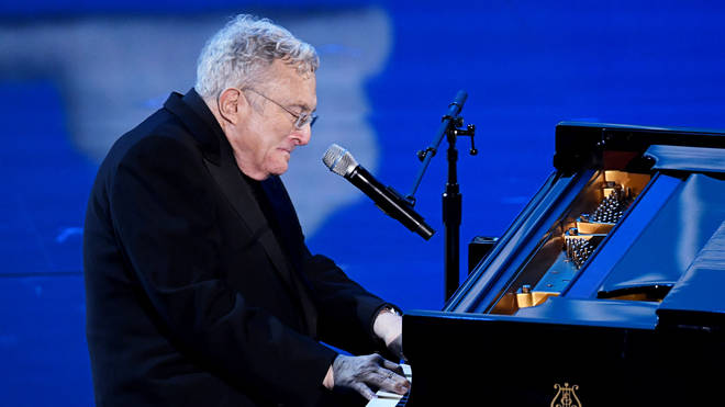 Randy Newman performs at the 92nd Annual Academy Awards - Show