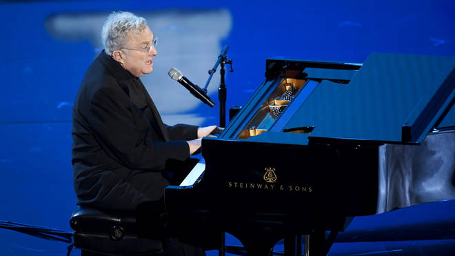 Randy Newman performs at the 92nd Annual Academy Awards